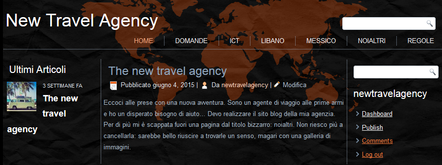 new travel agency